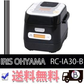 IRIS OHYAMA RC-IA30-B アイリスオーヤマ RCIA30B 炊飯器 IH 3合 銘柄量り炊き IHジャー炊飯器 米屋の旨み ブラック|1