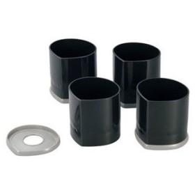 ISHIMARU/石丸合成樹脂  H-650 NEWハイヒール (テーブル用継ぎ足、コタツ継ぎ足、高さ調節)
