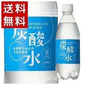 国産 天然水仕込みの炭酸水 ナチュラル ( 500mL24本入 ) ( 炭酸水 500ml 24本  国産 強炭酸水 )