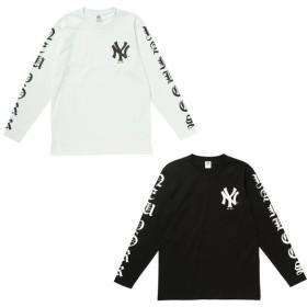 Majestic マジェスティック ニューヨークヤンキース 長袖 Tシャツ ロンT MM03-NYK-0047