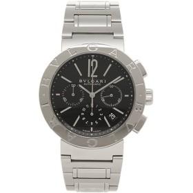 【返品OK】 ブルガリ 腕時計 BVLGARI BB42BSSDCH シルバー ブラック