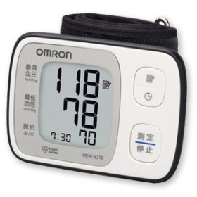 [オムロン]手首式自動血圧計 (HEM-6210)