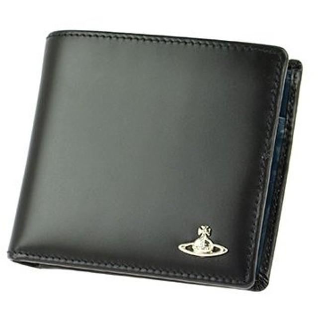 vivienne westwood ヴィヴィアン・ウエストウッド 33-065 man bicolored/blk 二つ折り財布 レディース 二つ折り財布