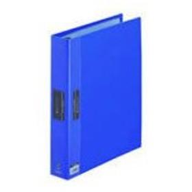 キングジム/クリアーファイル ヒクタス バインダータイプ A4 30穴 背幅57青