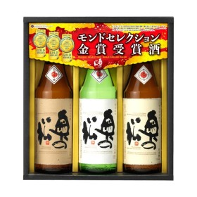 奥の松 モンドセレクション 金賞受賞酒ギフト 720ml×3本 OMGF
