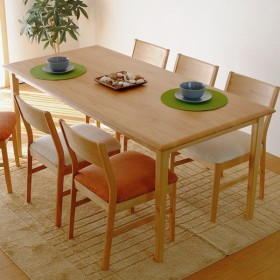 5/20までポイント最大31倍!テーブル 木製 エリス 165 ダイニングテーブル (IS)