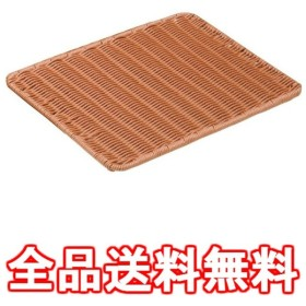 樹脂製すのこ 茶 大 91-021B 業務用 WSN1301