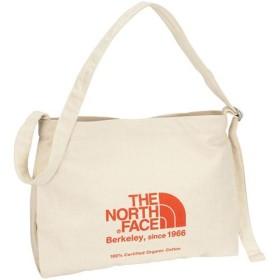 ノースフェイス(THE NORTH FACE) MUSETTE BAG ミュゼットバッグ TR/ナチュラル×TNFレッド NM81765 バッグ Skal認定 通学 ショルダーバック エコバック