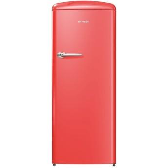 gorenje(ゴレニア) 1ドア冷凍冷蔵庫 260L/右開き レッド ORB152RD