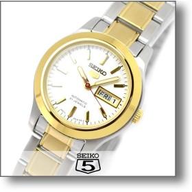 セイコー5 逆輸入モデル SEIKO5 セイコーファイブ SEIKO 機械式 自動巻き  レディース 腕時計 SYMD90K1