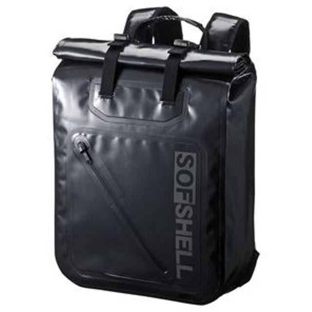 PCバックパック(防水生地) ブラック BAG-WP001BK サンワサプライ ※代金引換不可※