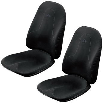 エムティージー(MTG) スタイルドライブ Style Drive ブラック 2個セット BS-SD2029F-N 美姿勢 ダイエット 姿勢ケア 運転