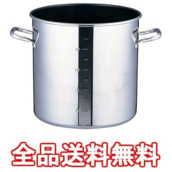 SAパワー・デンジ アルファ 寸胴鍋 39cm(蓋無)目盛付 ※ IH対応 IH (100V/200V)とガス火対応 AZV7307