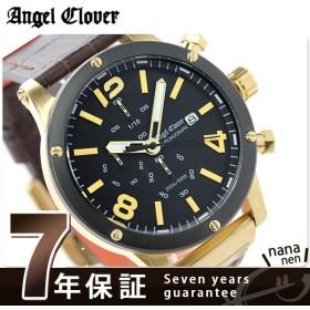 エンジェルクローバー エクスベンチャー クロノグラフ EVC46YBK-BW メンズ 腕時計