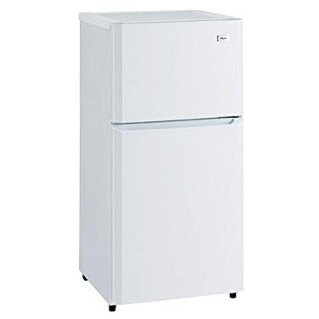 ハイアール 106L 冷凍冷蔵庫 JR-N106K-W 代引不可