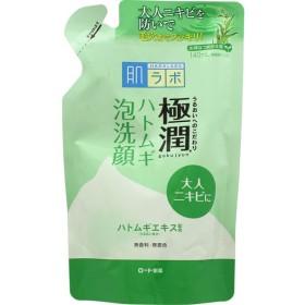 [ロート製薬]肌ラボ 極潤ハトムギ泡洗顔 詰替え用 140mL