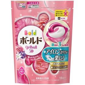 ボールド 洗濯洗剤 ジェルボール3D 癒しのプレミアムブロッサムの香り つめかえ 18コ入