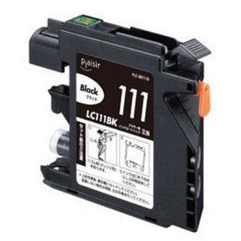 Plaisir/プレジール 互換インク ブラザー/brother LC111BK対応/ブラック PLE-BR111B