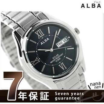 31日まで!さらに+24倍でポイント最大25倍 セイコー アルバ ソーラー メンズ 腕時計 AEFD555 SEIKO