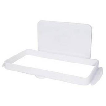 吉川国工業所 Mag-On ゴミ袋ホルダー 吸盤付き ホワイト (レジ袋ハンガー ポリ袋ホルダー)