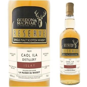 ウイスキー カリラ2007 ゴードン&マクファイル リザーブ<G&M) ウィスキー whisky
