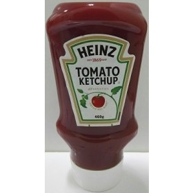 ハインツ トマトケチャップ(逆さボトル) 460g