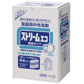 Kao ストリームエコ 750mlX4袋入り 505798 労働衛生用品・食器洗浄剤