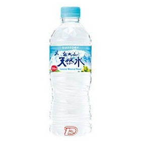 奥大山の天然水 サントリー 550ml ペット 24本入