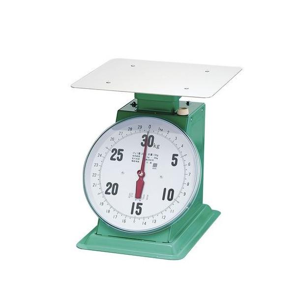 デカO型 【業務用】 【重量計】 (平皿付) 【測量器】 フジ 上皿自動ハカリ 20kg 【計量器】