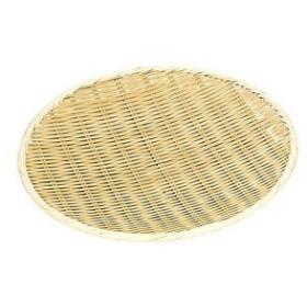 MANYO/萬洋  竹製 樹脂渕丸盆ザル/30cm