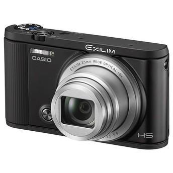 カシオ計算機 <EXILIM>CASIO デジタルカメラ EXILIM EX-SC200(1610万画素/光学x18/ブラック) EX-SC200BK 代引不可