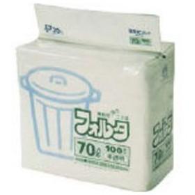 SANIPAK/日本サニパック  F−7H環優包装フォルタ70L白半透明/F-7H-HCL