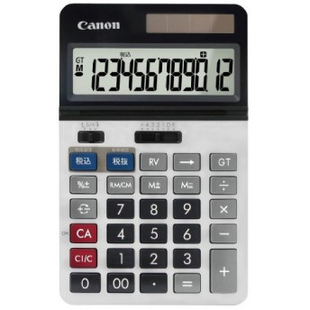 キヤノン 本体OP プロ仕様電卓 スリム卓上型 12桁 KS-2200TG SOB 8257B001 キャノン CANON