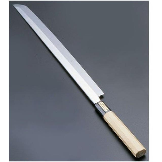 遠藤商事 SA佐文 本焼鏡面仕上 蛸引 木製サヤ 33cm ASB52033