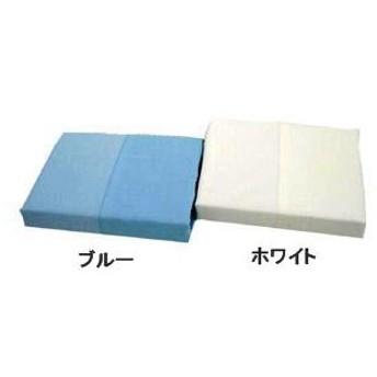 ネット式綿平織掛布団カバー シングルロング ブルー 150×210cm