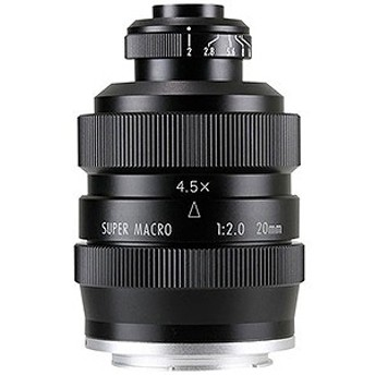 中一光学 交換レンズ FREEWAKER 20mm F2 SUPER MACRO 4-4.5:1【キヤノンEF-Mマウント】