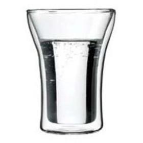 bodum/ボダム  アッサム Wウォールグラス/4556−10(2PCS)