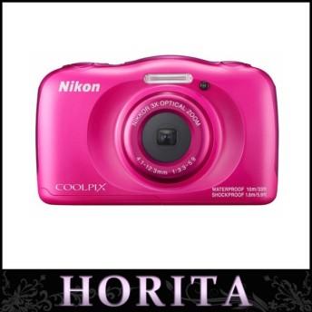 ニコン Nikon COOLPIX コンパクトデジタルカメラ W100 ピンク(41278)