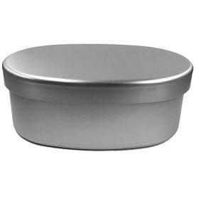 大一アルミニウム アルミ弁当箱 小判型L 内フタ付 440ml 東急ハンズ