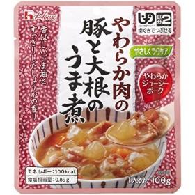 やさしくラクケアシリーズ やわらか肉の豚と大根のうま煮  ハウス食品  E1033