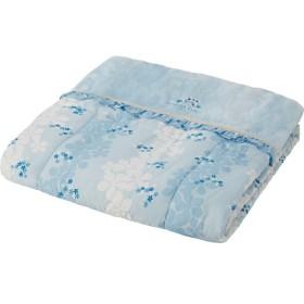 ティツィアナ ガロ ワイド ロングサイズボアふとん ブルー 寝装品 布団 ケット ボア-布団 SK-17306 代引不可