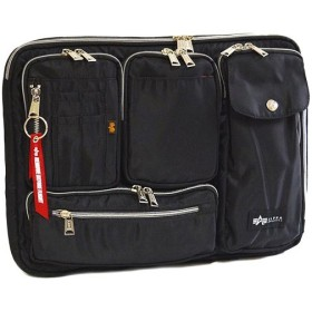 アルファインダストリーズ(ALPHA INDUSTRIES) MA-1 フライトナイロン インナーケース Lサイズ ブラック 04999 通勤通学 バッグ 鞄 カジュアル バック