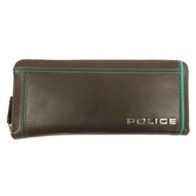 POLICE(ポリス) COLORS 長財布 チョコ PA-58402-29[【並行輸入品】メール便不可】