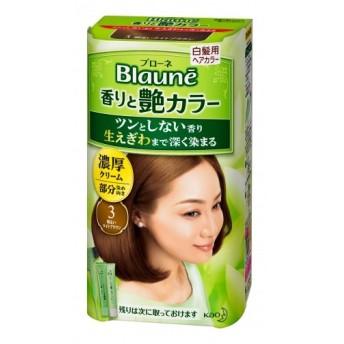 【医薬部外品】ブローネ 香りと艶カラー 濃厚クリーム 3 明るいライトブラウン