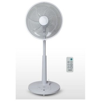 TEKNOS テクノス フルリモコンDCハイポジションリビング扇風機 ホワイト 35cm7枚羽根 KI-3588DC