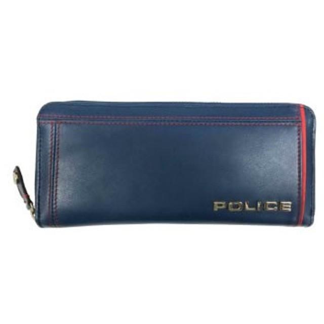 POLICE(ポリス) COLORS 長財布 ブルー PA-58402-50[【並行輸入品】メール便不可】
