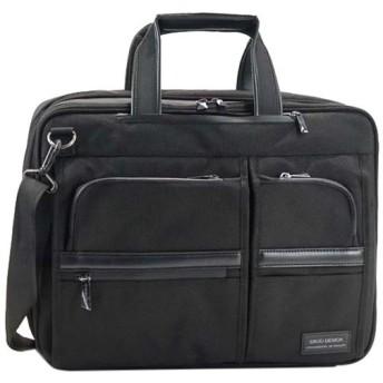 エルゴデザイン(ERGO DESIGN) ブリーフケース ビジネスバッグ ブラック 1002 通勤通学 リュック ショルダー バック かばん