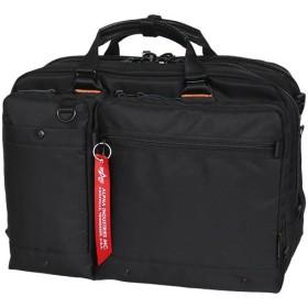 アルファインダストリーズ(ALPHA INDUSTRIES) P1000D シングルビジネスバッグ ブラック 04951 通勤通学 バッグ 鞄 カジュアル バック