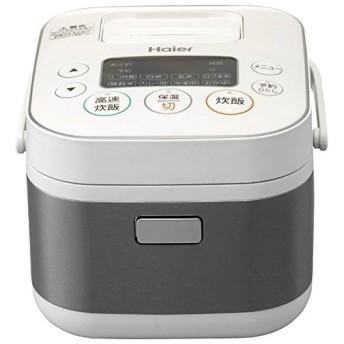 ハイアール 3合炊きマイコンジャー炊飯器 JJ-M31A-W 代引不可