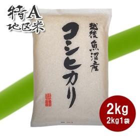 新米 令和元年産 魚沼産コシヒカリ 2kg - 米 こしひかり 新潟産 特A 米 お米 送料無料